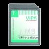 Memory Configuration Card (MCC) 4MByte