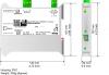 BACnet MSTP Master/ Modbus TCP Slave - Converter