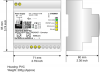 BACnet MSTP Slave / Modbus TCP Slave - Converter