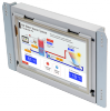 Touchscreen HMI with Rear-Mount design
