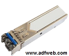 SFP module with LC connector for single-mode fiber-optic