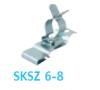 EMClip® Shield terminal SKSZ (6,0 - 8,0)